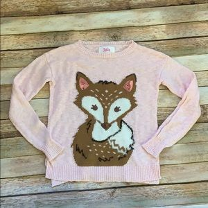 Justice Shirts & Tops - Justice Fox Sweater